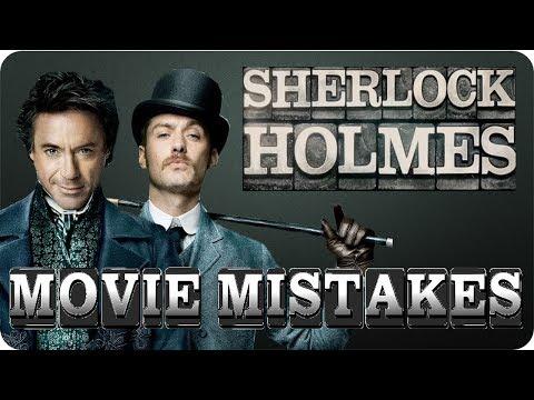 MOVIE MISTAKES - Sherlock Holmes    1 & 2  [HD]