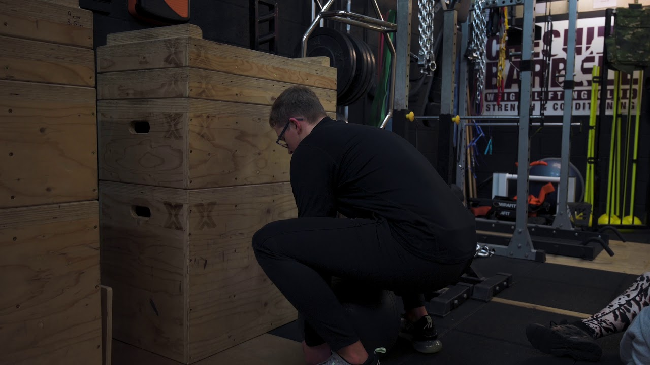 Conditioning that builds explosive back and leg strength