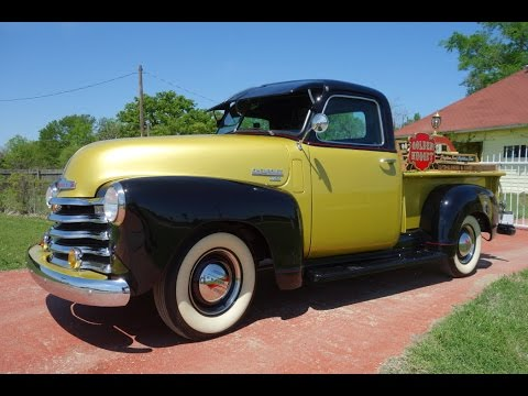 1950 chevrolet 3100 thriftmaster pickup truck youtube. Black Bedroom Furniture Sets. Home Design Ideas