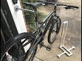 Cheap simple bike stands you can make at home