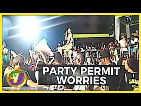 Party Permit Worries in Jamaica | TVJ News