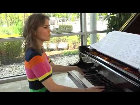 Anna Sutyagina plays Gaby Kapps Nocturne For a Dialogue in the Night