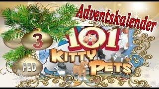 Adventskalender #3 Katzenspiel 101 Kitty Pets Katzen Haustier Simulator #Let