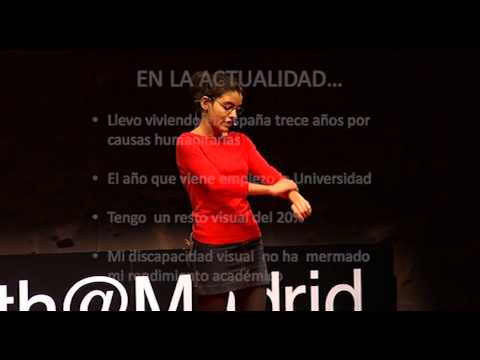 Helping Mauritania: Lalty Mint Sidi at TEDxYouth@Madrid
