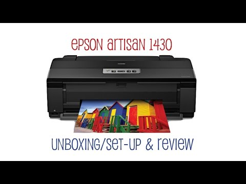 Epson Artisan 1430 Printer Review