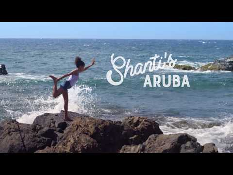 Discover Black Stone beach with Shanti : The Locals Travel Guide to Aruba