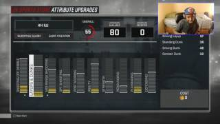 NBA 2K17 ATTRIBUTES! Prelude Upgrades- Ugh This Just Nasty....