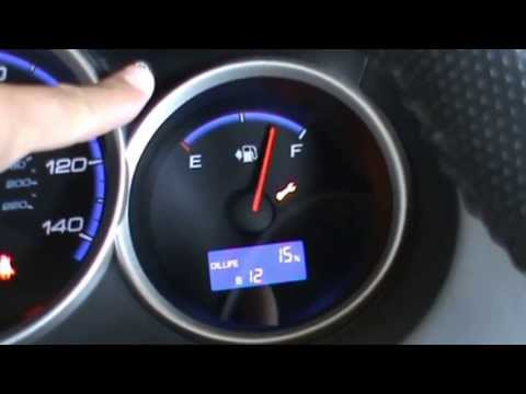 How To Reset Honda Oil Life Dashboard Indicator