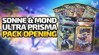 Sonne & Mond Ultra Prisma Pack Opening - Pokemon Trading Card Game - Deutsch German - Dhalucard
