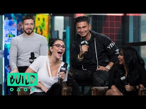 "The Cast Of MTV's ""Jersey Shore Family Vacation"" Drop In To Chat About Their Show"