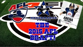 EA Sports Arena Football HD - The 2015 AFL Draft is Now! | Give Me Jameis Winston!