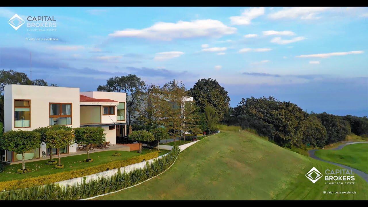 Hermosa Casa en el Cielo Vista al Campo de Golf ZM  Guadalajara