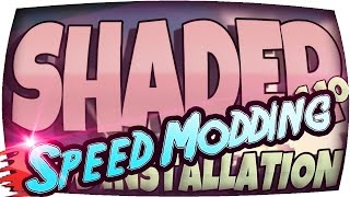 ★ SPEED MODDING ★ MINECRAFT SHADERS MOD Installation in 90 SEKUNDEN!!! - Mods Download Deutsch