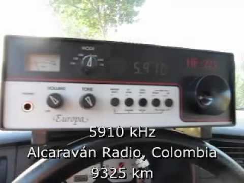 Latin American Shortwave DX after Sunrise