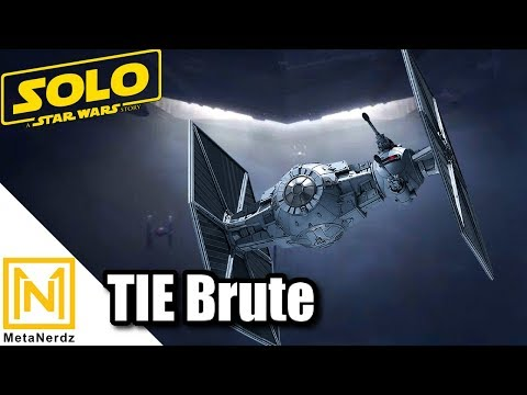 Heavy TIE Fighter with a DROID BRAIN - TIE rb Heavy Starfighter - TIE Brute - Solo TIE Fighter Lore