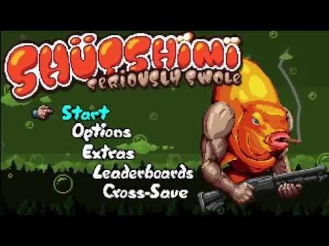 Shutshimi video game , fun stress relieving game!  
