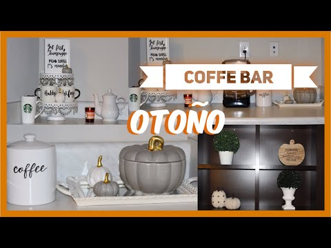 Coffee Bar Decoracion De Otono 2018 Ivonnediazmakeup Full Download