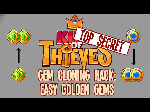 King of Thieves - Gem Cloning Hack: Easy Golden Gems