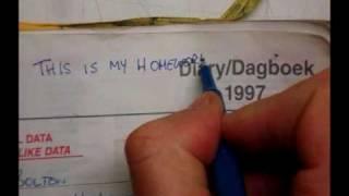 The homework diary