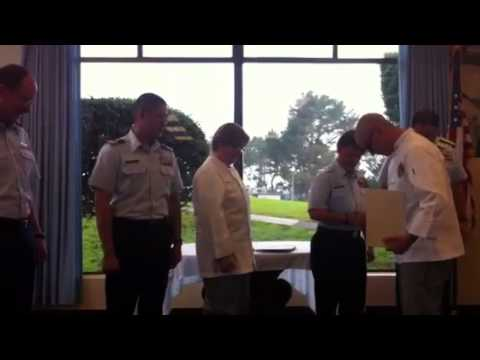 Nick graduates from culinary program USCG