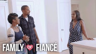 Things Get Awkward When Keron and Ashley's Family Meet for the First Time | Family or Fiancé | OWN