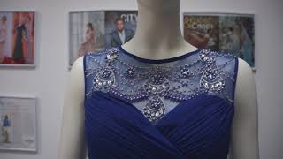 Вечернее платье в прокат Blue Serenity Evening Dress Москва, Краснодар НОВИНКИ!