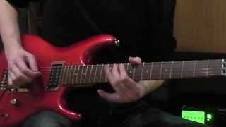 Axe FX II & Ibanez JS-1200 Joe Satriani signature guitar - Power of Rock solo