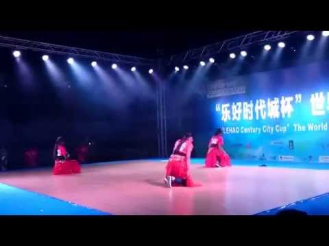 Hiphop dance by qingdao university students at yantai........