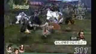 Musou Orochi:  Xiao Qiao, Da Qiao, and Kunoichi part 2