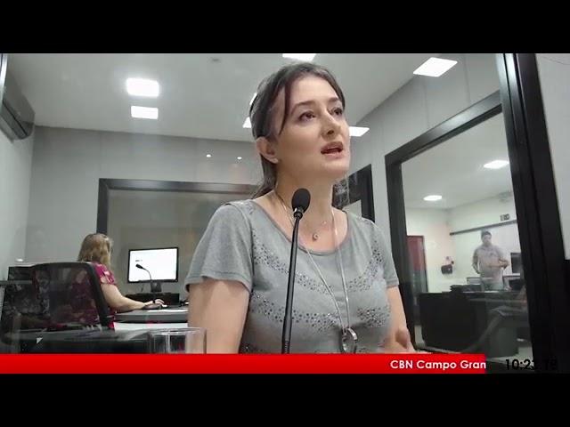 Entrevista CBN Campo Grande: Leandra Costa, colunista CBN