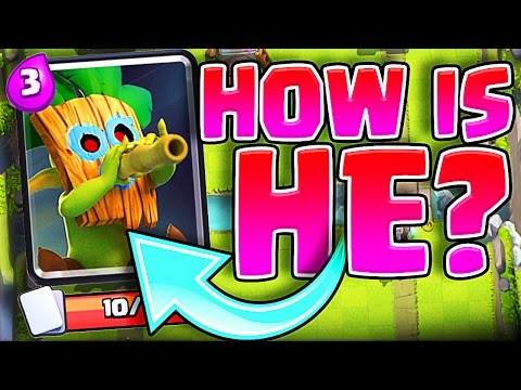 Thumbnail: BUYING DART GOBLINS!! Clash Royale New Troop!