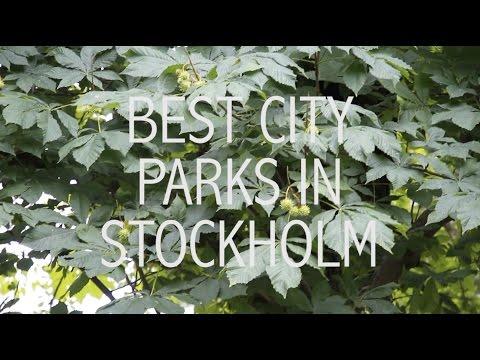 Best city parks in Stockholm
