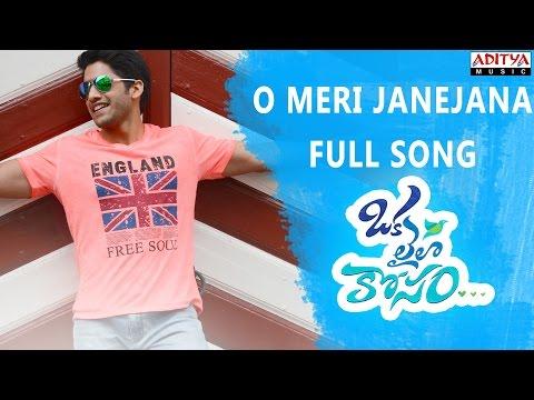 O Meri Janejana Full Song || Oka Laila Kosam Movie || Naga Chaitanya, Pooja Hegde