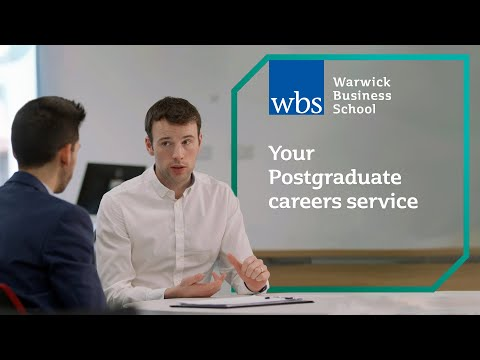 Your Postgraduate careers service at WBS