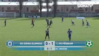SK Sigma Olomouc U19 - 1. FK Příbram 0:1