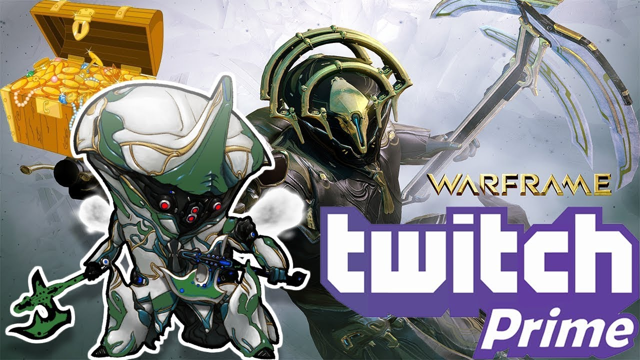 Twitch Prime has awesome loot! (not sponsored) - Warframe Beginner