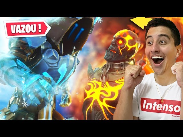 Assisti o Evento Ao Vivo Do Rei De Fogo Vs Rei De Gelo No Fortnite Antes Da Hora..!