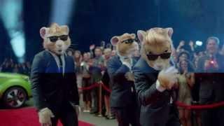 Хомячки в рекламе автомобиля Kia Soul Lady Gaga 'Applause'