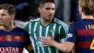 Barcelona vs Real Betis 4-0 Messi, Suarez, Westermann La Liga 30.12.2015