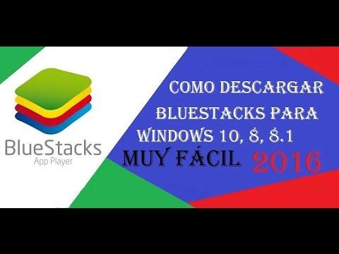 descargar bluestacks para windows 8.1 64 bits español gratis