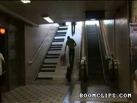 how to make piano stairs