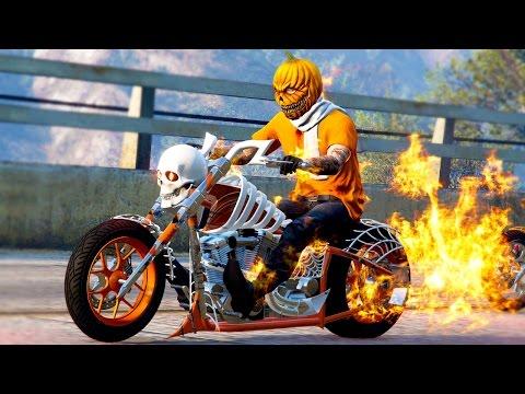 NEW $2,500,000 HALLOWEEN BIKE! (GTA 5 Halloween DLC)