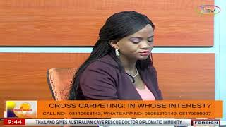 Open Access On Morning Delight: In Whose Interest Is Cross Carpeting?