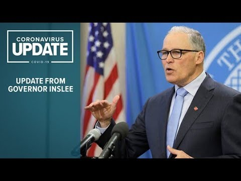 WATCH LIVE: Washington Gov. Inslee gives update on coronavirus response