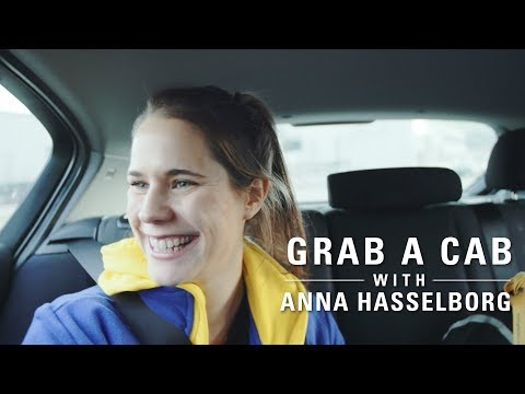 Grab a Cab with... Anna Hasselborg