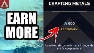 HOW TO EARN MORE CRAFTING METALS (APEX LEGENDS)