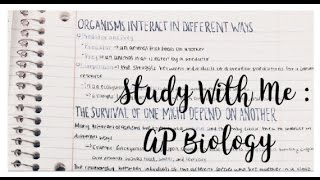 study with me ap biology