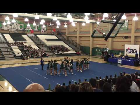 TEmple city high school TCHS cheer team