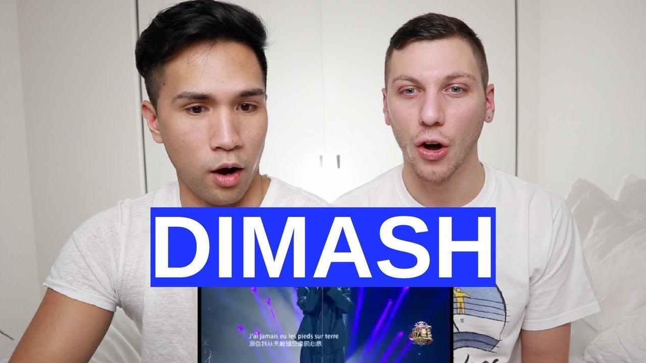GAYS REACT TO DIMASH KUDAIBERGENOV - S. O. S.