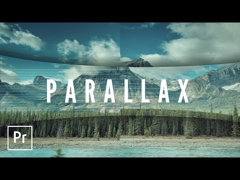 Parallax Style Intro and Transition Video Effects Premiere Pro Tutorial